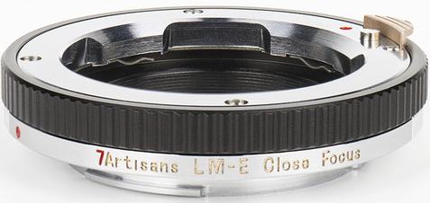 7artisans Macro Focus Adapter M to E (Close Ring ES)