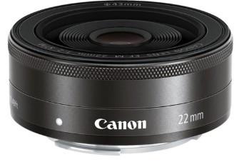 Canon EF-M 22mm F2.0 STM Black (White box)