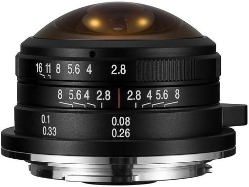 Laowa 4mm f/2.8 Fisheye (M 3/4)