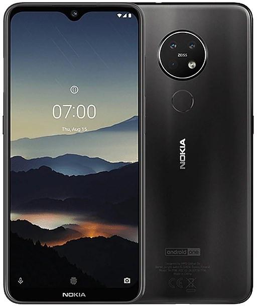 Nokia 7.2 Dual Sim TA-1196 128GB Charcoal (6GB RAM)