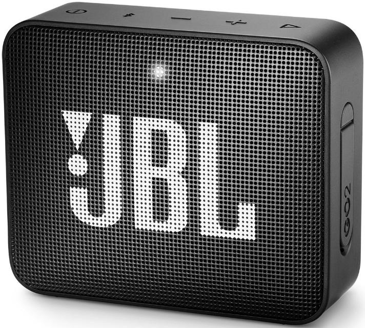JBL GO 2 Portable Wireless Speaker (Black)