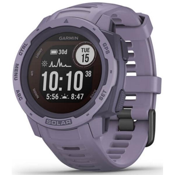 Garmin Instinct Solar GPS Watch (Orchid)