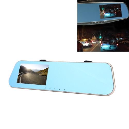 Car DVR - Left Screen Display Rearview Mirror 1080P HD