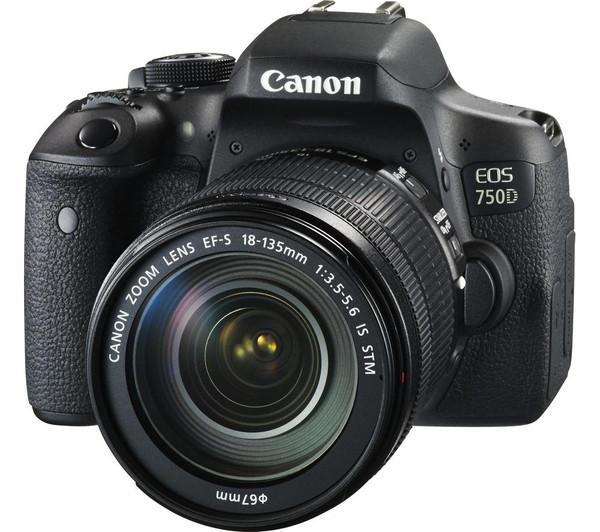 Canon EOS 750D Kit (18-135mm STM)