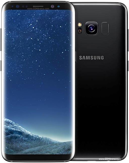 Samsung Galaxy S8 Dual SIM G950FD 64GB ブラック 【SIMフリー】