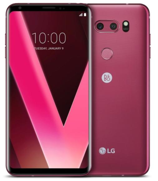 LG V30+ Dual Sim H930DS 128GB Rose With B&O Earphones