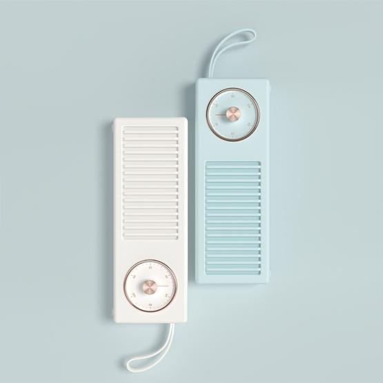 3life-322 Mini Retro  Wireless Bluetooth Speaker (Blue)