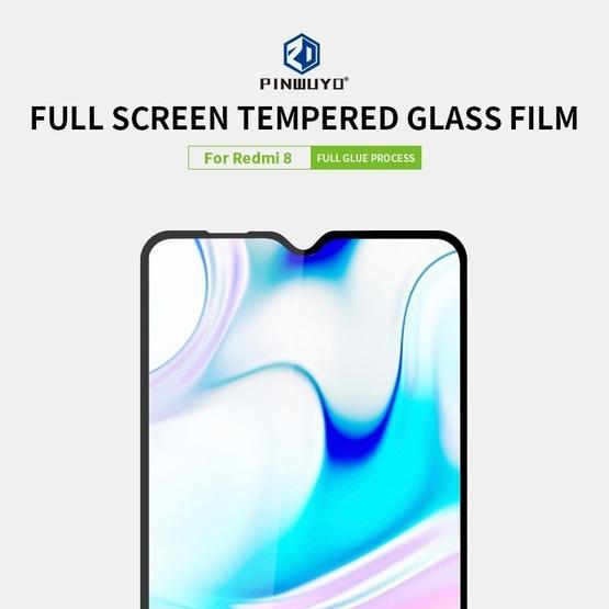 For Xiaomi RedMi 8 PINWUYO 9H 2.5D Full Screen Tempered Glass Film(Black)