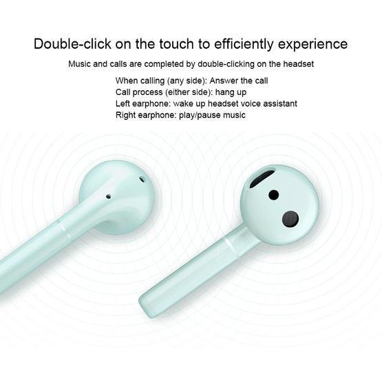 Huawei Honor FlyPods Waterproof Wireless In-ear Bluetooth Headset(Green) - Standard Edition