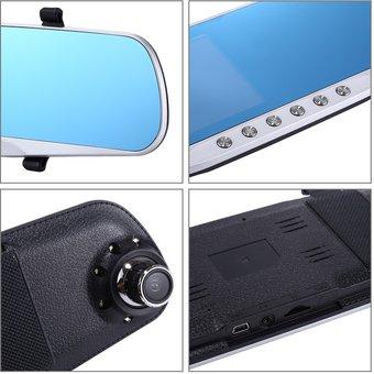 Car DVR - G832 HD 1080P 4.3 inch Screen Display Rearview Mirror
