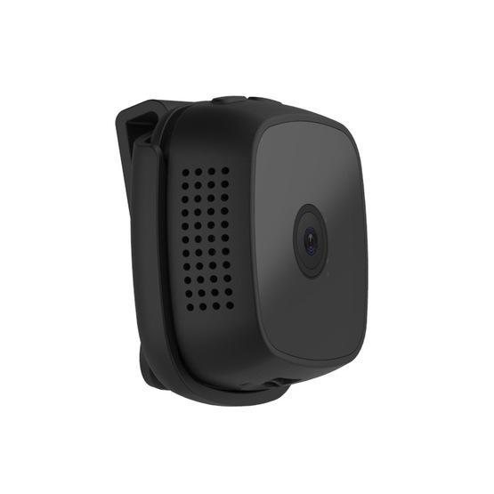 CAMSOY C9 HD 1280 x 720P 70 Degree Wide Angle Wireless WiFi Wearable Intelligent Surveillance Camera (Black)