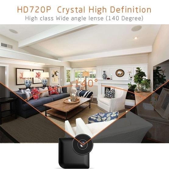 CAMSOY C3 HD 1280 x 720P 140 Degree Wide Angle Wireless WiFi Wearable Intelligent Surveillance Camera (Grey)