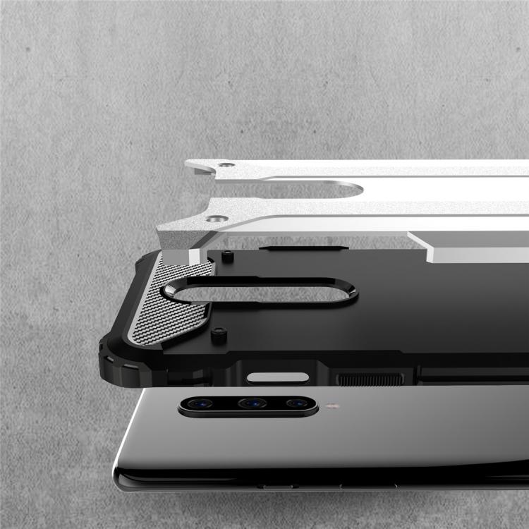 Magic Armor TPU + PC Combination Case for OnePlus 8 (Blue)