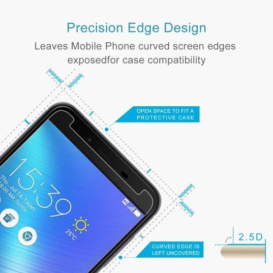 (2 pcs/Set) 0.26mm 9H 2.5D Tempered Glass Film for Asus ZenFone 3 Max ZC553KL