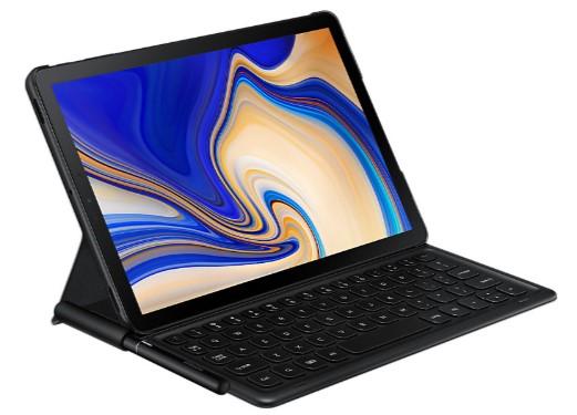 Samsung Galaxy Tab S4 Book Cover Keyboard  Black