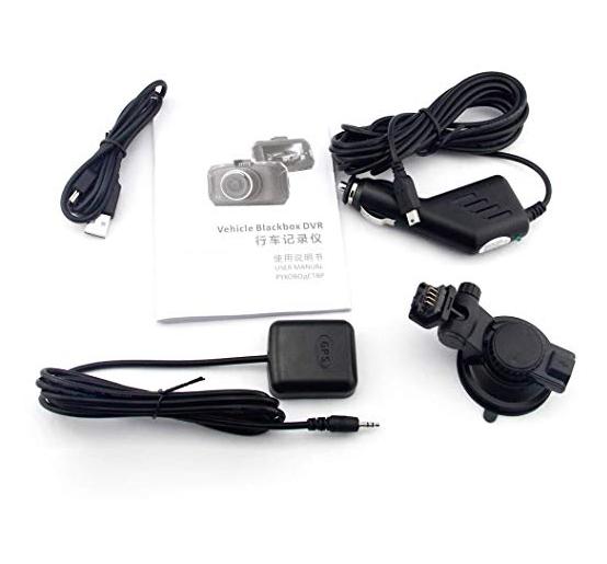 Car DVR - GS90C 2.7 inch LCD Screen HD 2304 x 1296P