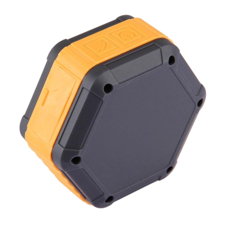BT508 Portable Life Waterproof Bluetooth Stereo Speaker (Orange)