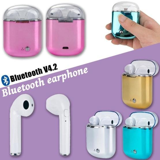 I7s Binaural Wireless Bluetooth TWS Earphone with Charging Bin Plating