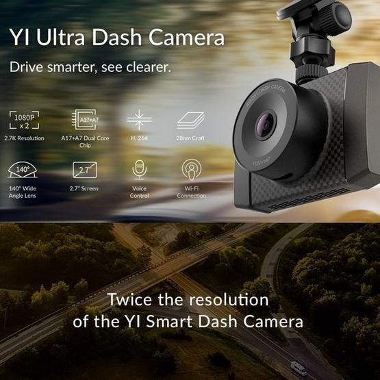 Car DVR - Original for Xiaomi Xiao YI Ultra Dash Camera, 2.7 inch TFT LCD Screen