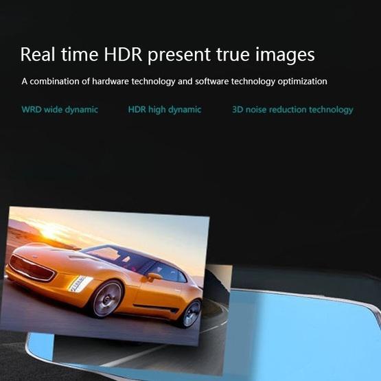 Car DVR - IPS Touch Screen Rear View Mirror