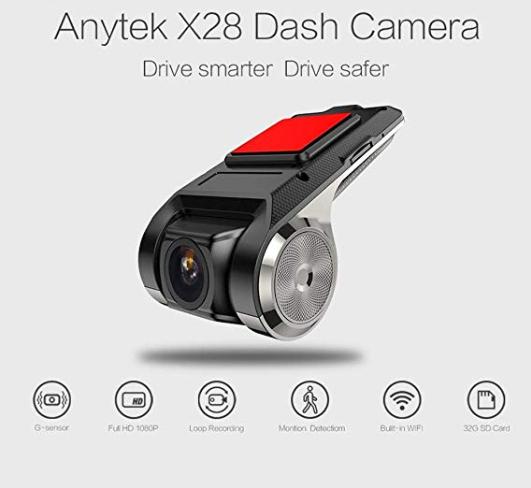 Car DVR - Anytek X28 Full HD 1080P