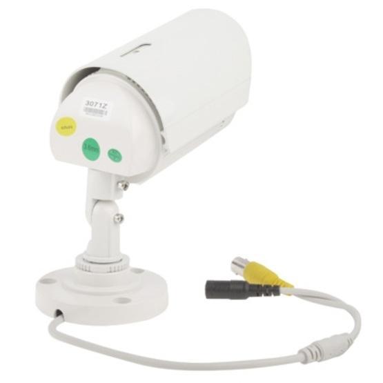 1 / 3 Sony 700TVL 3.6mm Lens IR & Waterproof Color CCD Video Camera, IR Distance: 50m